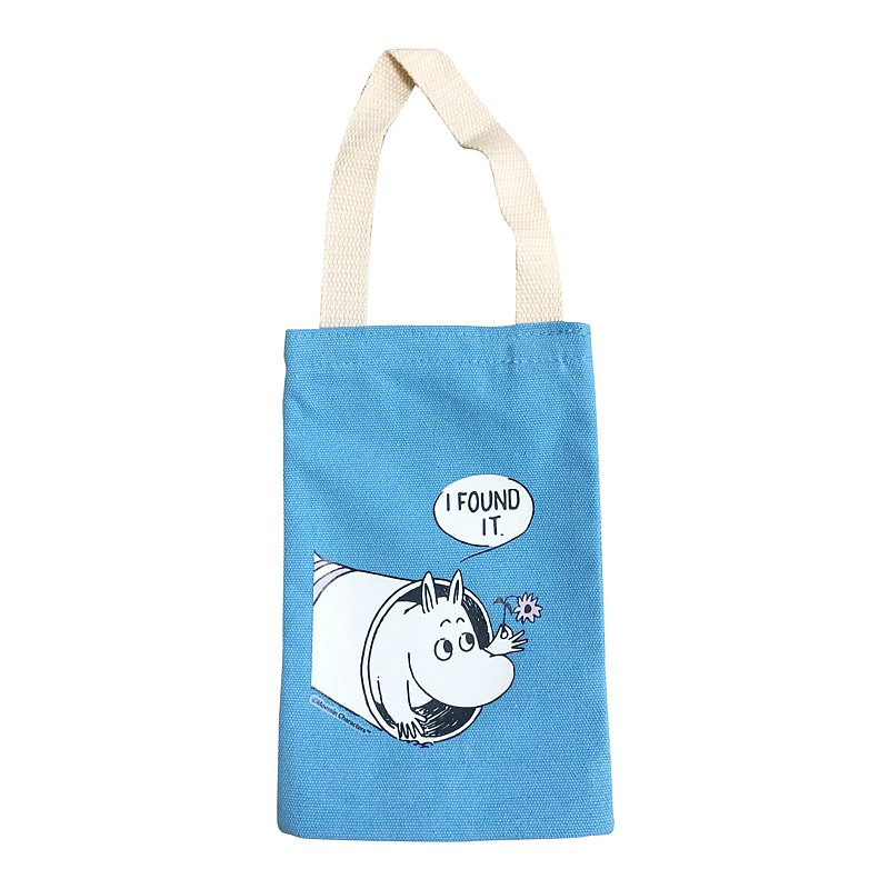 Moomin 噜噜 Mi Authorization-Kettle Bag (Blue), AE09