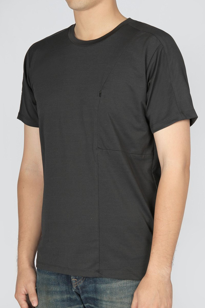 Breathable mesh splicing reflective suction line Tee