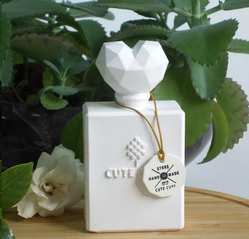 Geometric Perfume Bottle B-Scented Gypsum Exchange Gift Christmas Gift