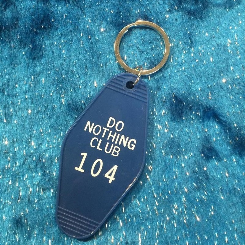Jewelry series do not do club key ring