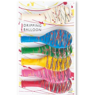 Japanese handmade atmosphere balloon - drip balloon (S)