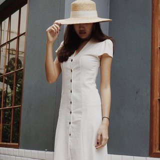 Milly long dress cotton