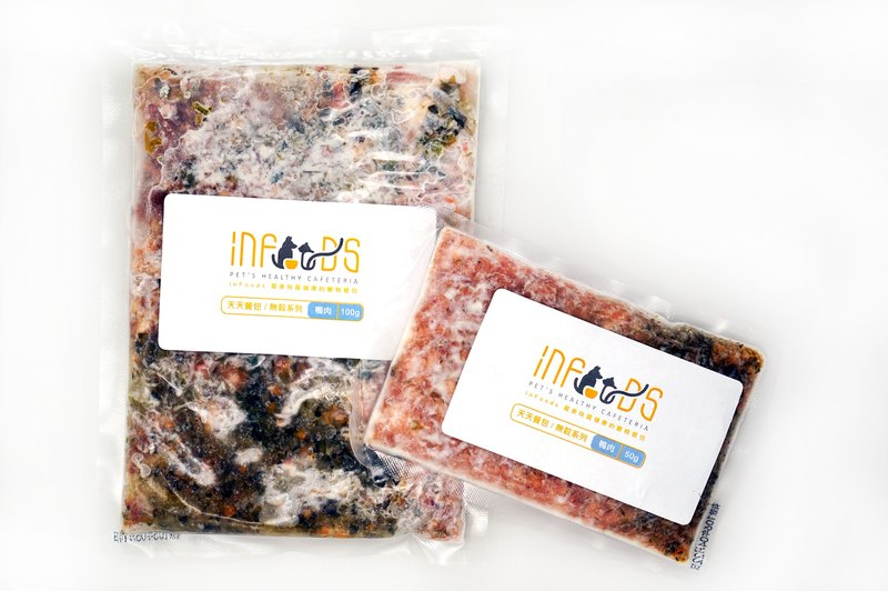 inFoods baby food [M_ duck meat no 榖-180g] _ no grain meat bag series (pre-order)