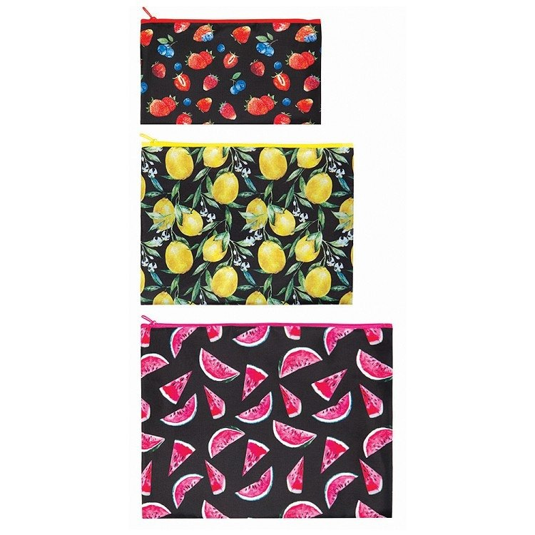 LOQI into three groups pouch / New fruit ZPJU