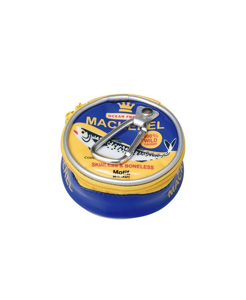 Japan Magnets European retro style canned fish can be hanged with a change storage bag (salmon)
