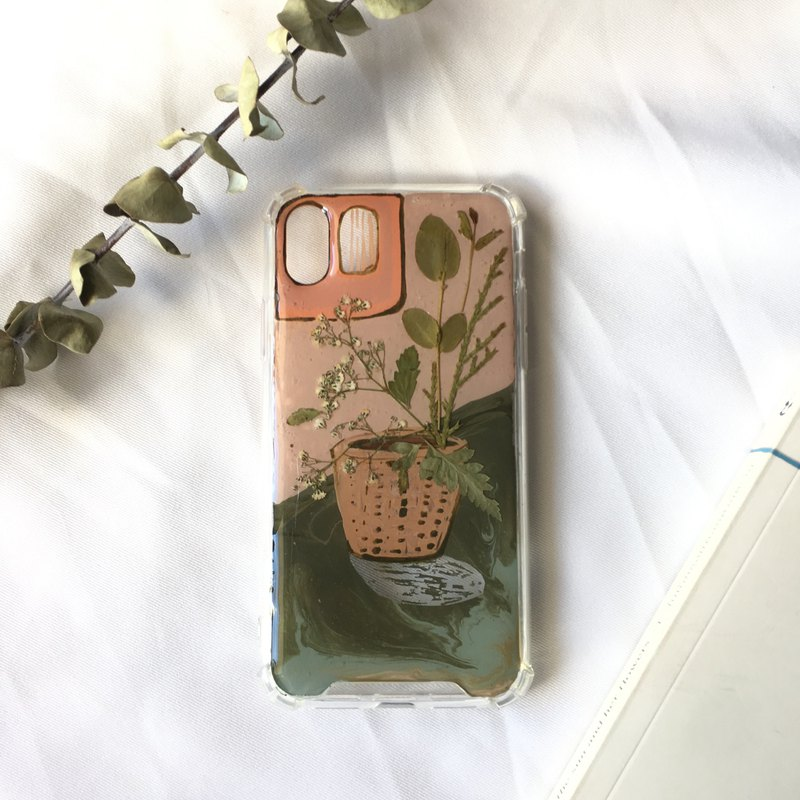 plant handmade phone case