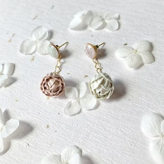 Rose hand-made love earrings can be modified ear clip Valentine's Day gift