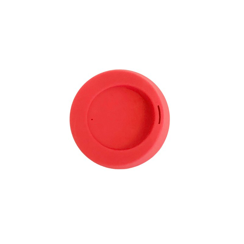 American gosili/silikids jelly tableware [TOGO Silicone accompanying cup cover] watermelon red