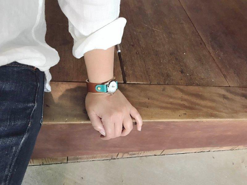 STITCH成人休閒巧克力薄荷針跑步手錶男女通用SRW-BNT-OA