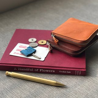 革職人 LEATHER FACTORY【Refine II Coin Case】Wallet  Purse Made in Japan