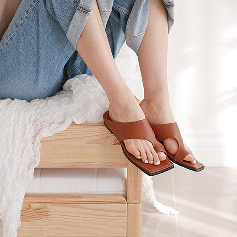 PRE-ORDER韓國人手製 MACMOC Amber Brown 涼鞋