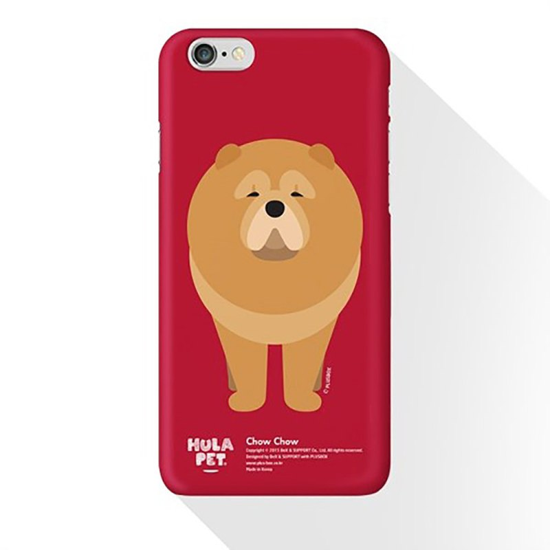 HULA PET MOBILE CASE FRONT VERSION CHOW CHOW (iphone 6 +)