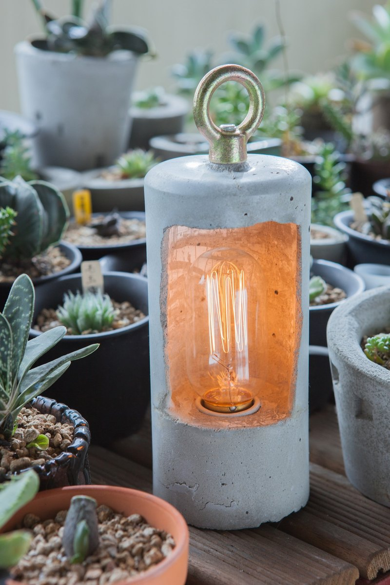 [Rain] Workshop pure hand-made hand-made water mode lamp [stone pendant] containing light bulbs