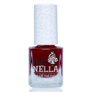 British [Miss Nella] children's water-based tear-proof safety nail polish - Love Deep Peach (MN20)
