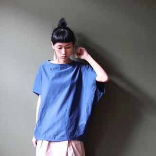 omake/ crab tops/ royal blue