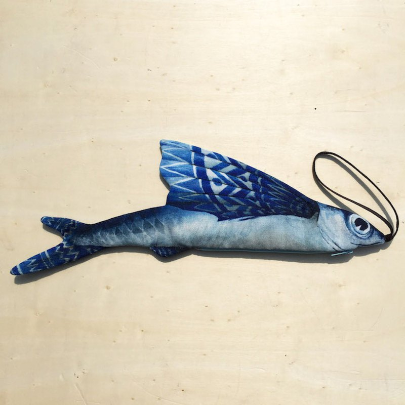 [Sea Animal Series] Flying Fish Pencil Case