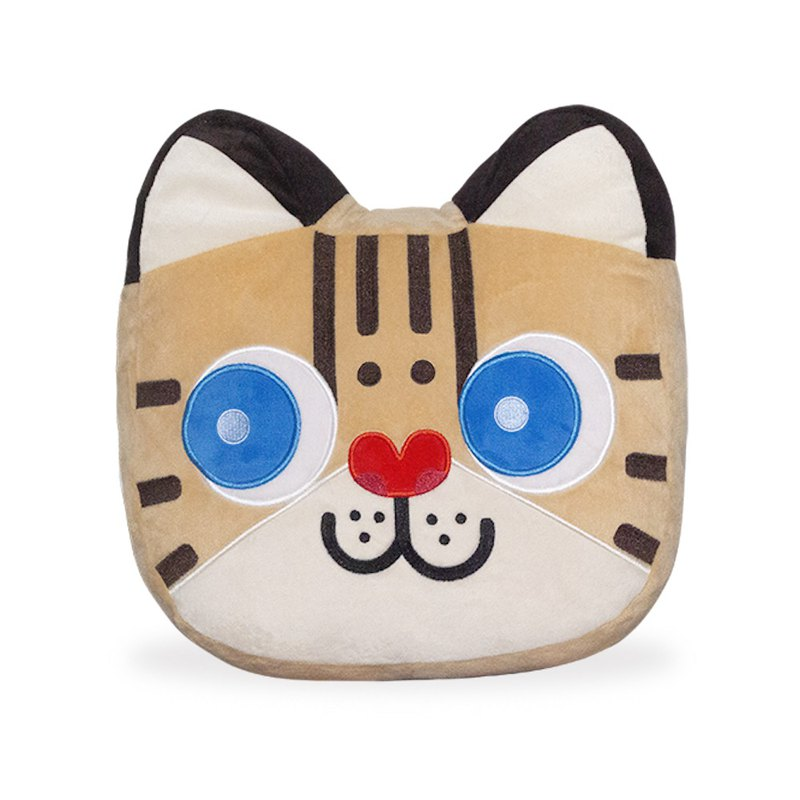 Huang Shao nap pillow gift shopping bag 1 warm hand pillow stone tiger cat Taiwan Taiwan Bar