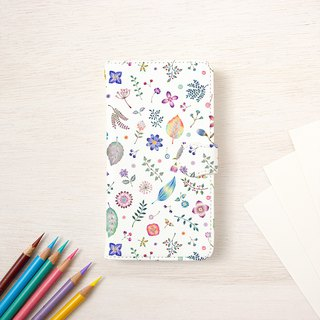 "Multicolored in Japanese. Handbook type smart case ""Shiori color"" TSC - 415"