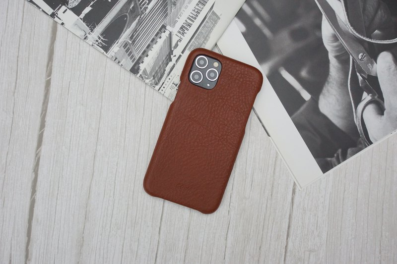 IPHONE 11PRO MAX Leather Phone Case-Tricolor