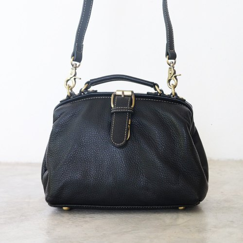 Mini Leather Bag / Small Cross-body Leather Handbag