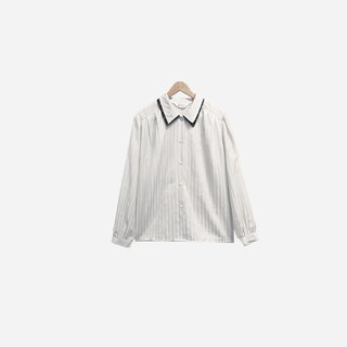 Dislocation vintage / double collar line shirt no.346 vintage