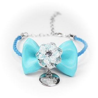 CHIC DOG Crystal bow