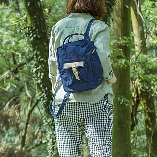 【 ZeZe Bag Small】DYDASH x 3way hand bag/shoulder bag/backpack/(Small Uncle Blue)