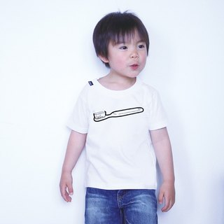 KIDS toothbrush T-shirt (WHITE)