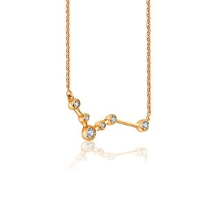 Pisces Diamond Necklace