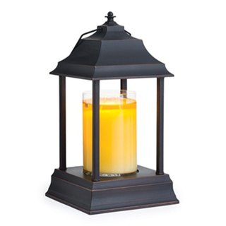 VIVAWANG colonial fragrance candle lantern - imitation brush brown
