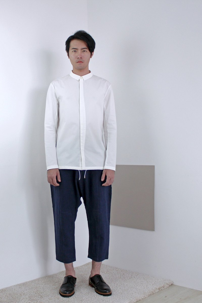 Drawstring Casual Shirt