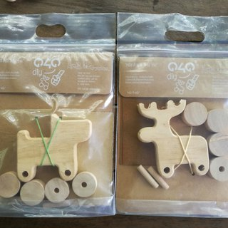TWO SETS OF DIY wooden toys