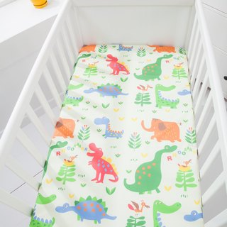 Waterproof breathable cotton baby bed sheets <dinosaur world> Diaper pad waterproof pad Diaper pad