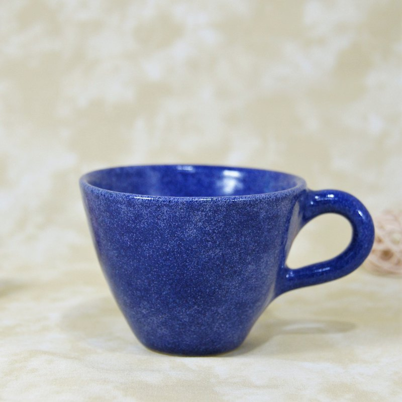 Snowflake blue second generation coffee cup, teacup, mug, water cup - about 120ml