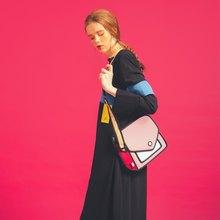 JumpFromPaper Giggle Coo Coo Pink Shoulder Bag 896996f623