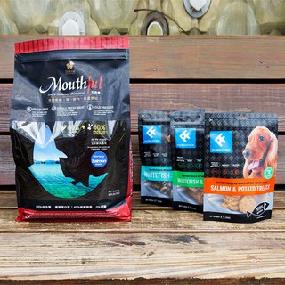 [Shiba Inukshu University] Mouthful Master Fresh Food Low Temperature Baking Dog Feed + British Snack Set