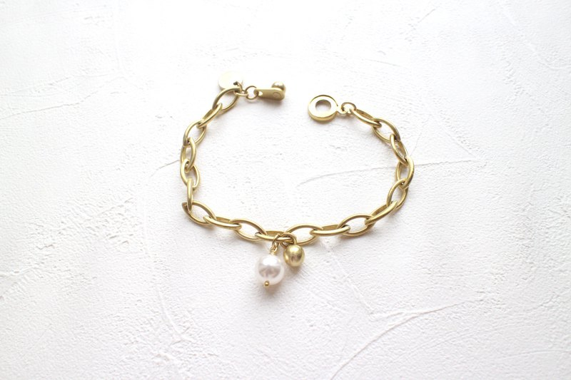 Good day-Brass bracelet