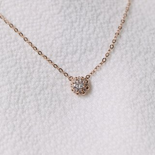 Diamond Diamond Necklace