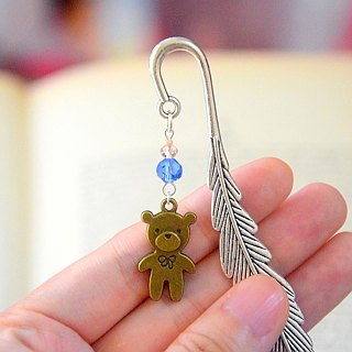 Cute Teddy Bear Handmade Bookmark