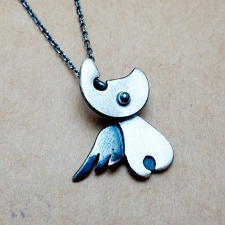 Sterling silver fly cat necklace a pair of 2680 yuan free lettering