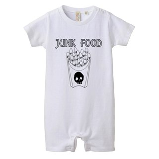 [Rompers] skull French fries