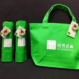 甜甜圈帆布包(綠色)