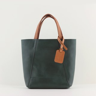 Carry-on bag (S) tote / handbag - forest green
