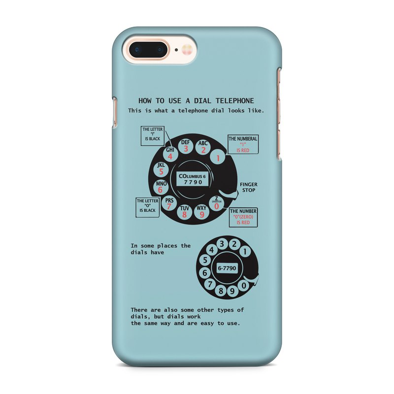 How to use a dial phone Phone case