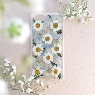 Single Chrysanthemum:: Embossed Phone Case