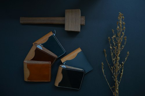 [Handmade Series] Italian Leather cardcase, short wallet, customize
