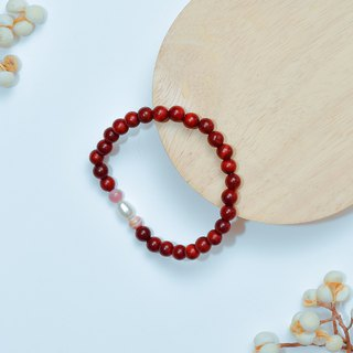 Ran Ran (Bracelet Series) Red Rosewood (6mm)--Development of Heart
