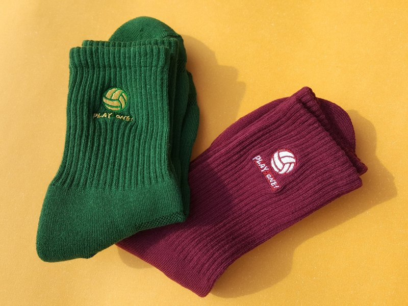 PLAY ONE! Volleyball Socks / Christmas Limited