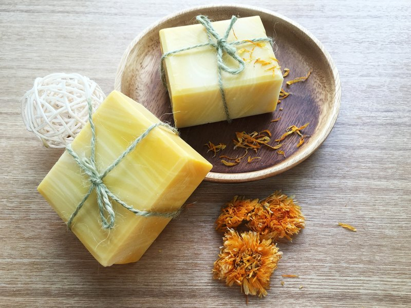 Calendula silk repair soap