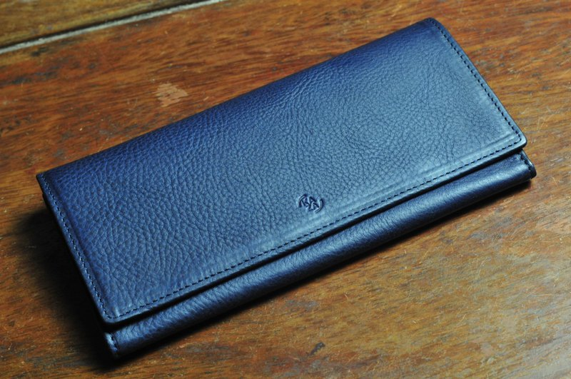 Folded long wallet